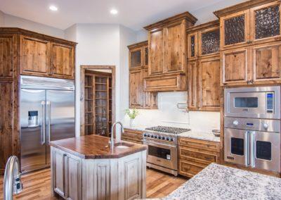 New Home Custom Kitchen Cabinets